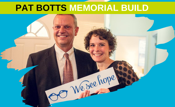 Pat Botts Memorial Build